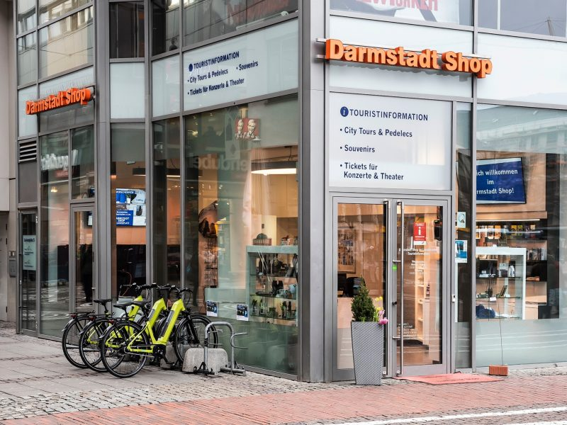 Darmstadt Shop Luisencenter - Touristinformation
