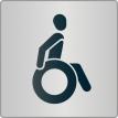 """Piktogramm """"Rollstuhlfahrer"""""""